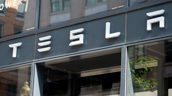 File photo of a Tesla showroom (AFP)