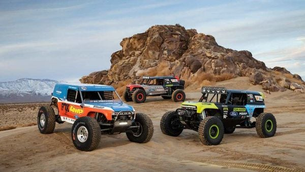 Ford Bronco 4400 series race trucks