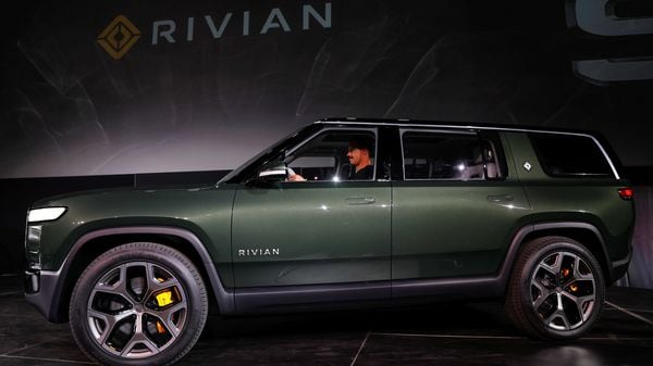 File photo: Rivian introduces all-electric R1S SUV at Los Angeles Auto Show in Los Angeles, California. (Reuters)