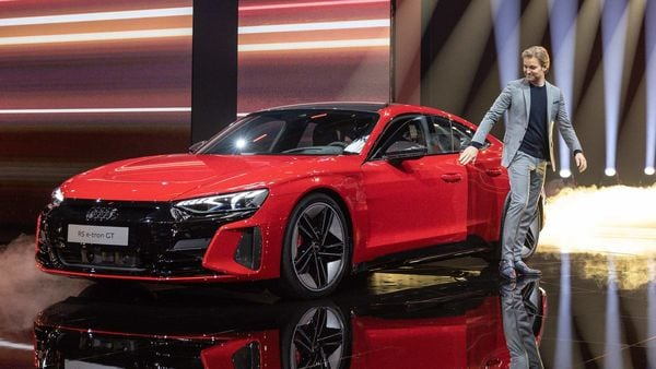 Five minutes of using a fast-charger will increase range to 100 kms while a standard 11 kW AC unit can power the car's battery overnight.The e-tron GT will be able to go for 487 kms without the need to be plugged in.