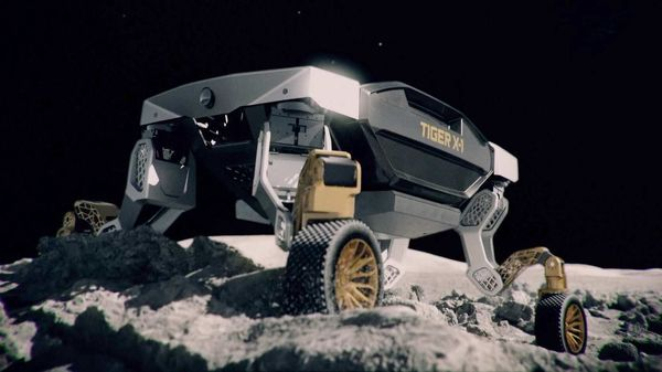 Hyundai's Ultimate Mobility Vehicle concept TIGER