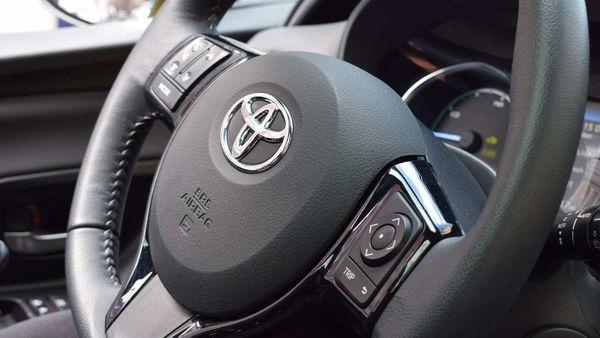 File photo of Toyota logo