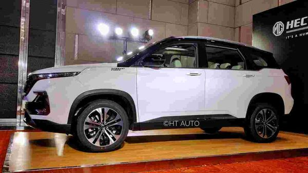 MG Hector has remained the bestselling model of the automaker in India.