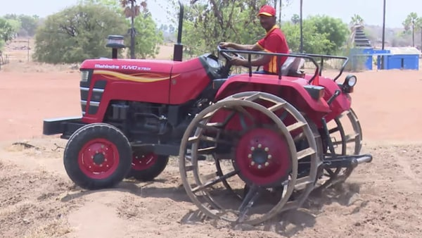 Representational photo of a tractor