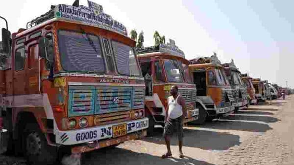 File photo of commercial vehicles (REUTERS)