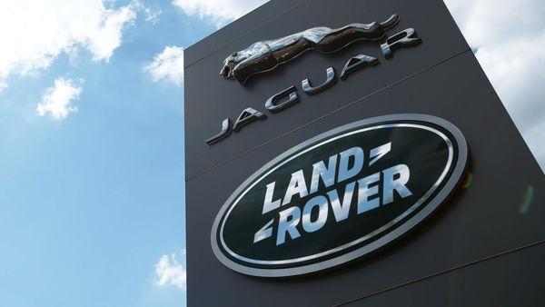 The Jaguar Land Rover logo is seen at a dealership, following the outbreak of the coronavirus disease, Milton Keynes, Britain (REUTERS)