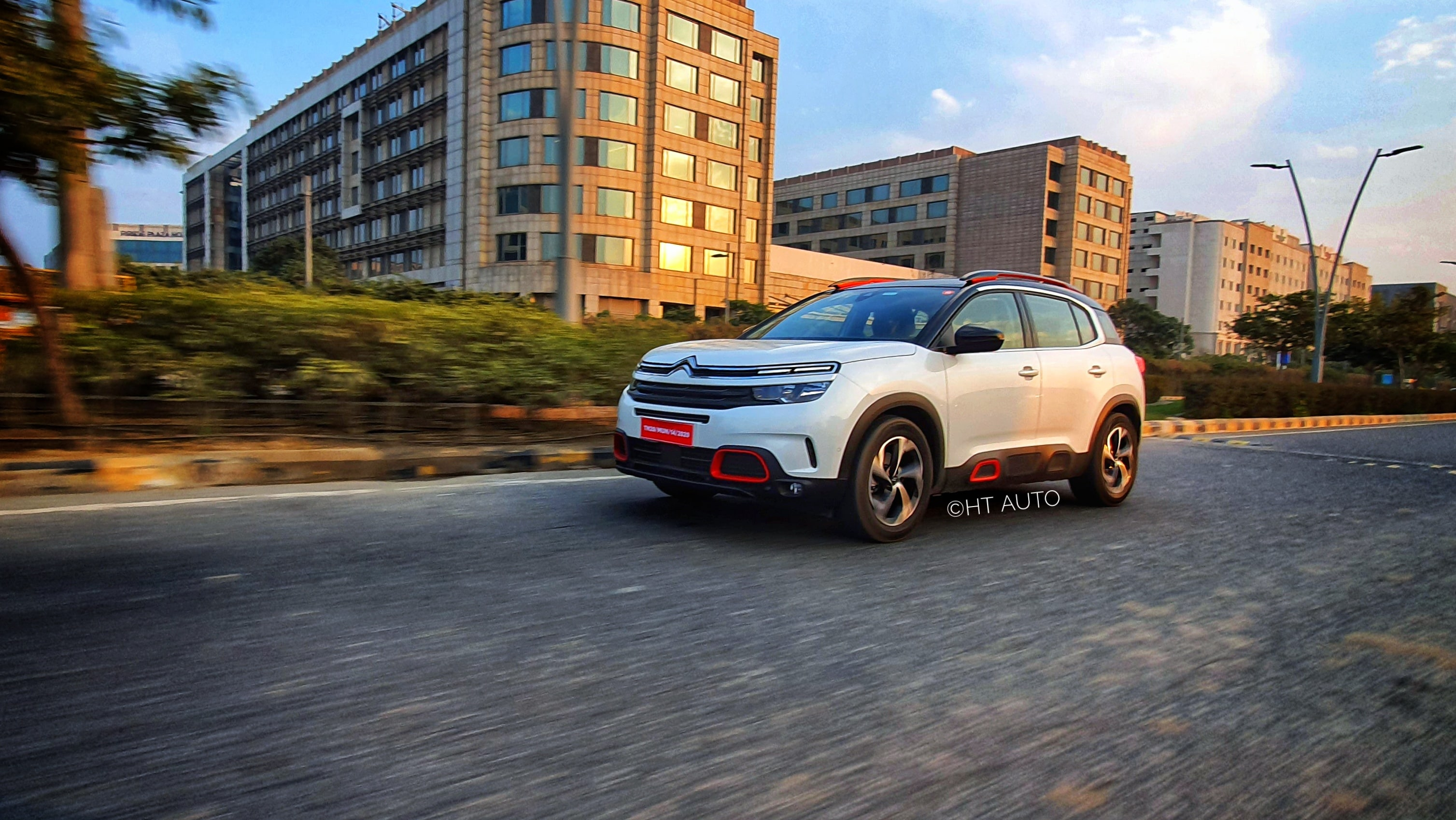 Citroen C5 Aircross, once launched, will take on Hyundai Tucson and VW Tiguan AllSpace. (HT Auto/Sabyasachi Dasgupta)