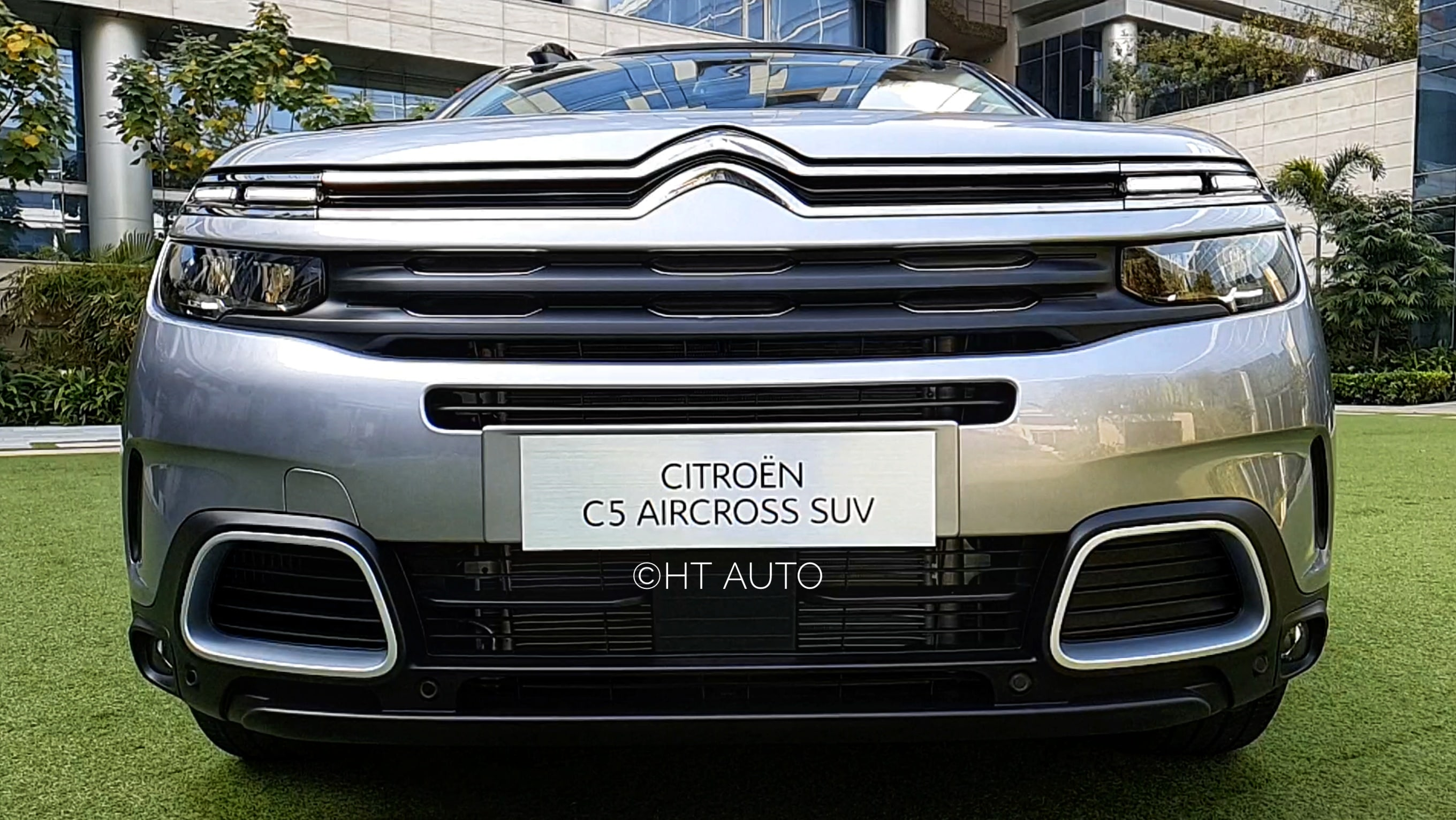 The C5 Aircross has a very distinct, very smart front profile. (HT Auto/Sabyasachi Dasgupta)