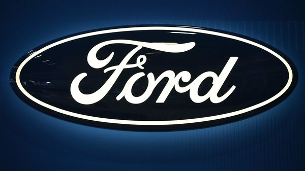 File photo of Ford logo (AFP)
