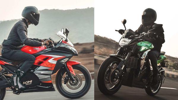KM 3000 (L) and KM 4000 e-bikes