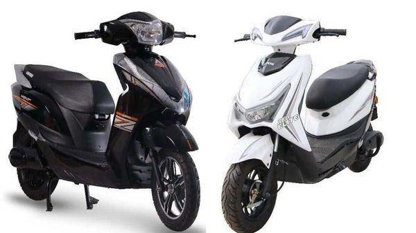 Ampere Magnus 60 Black (left) and Ampere Rio Elite (right)