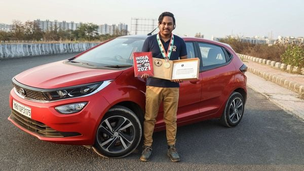 Pune resident Devjeet Saha drove the Altroz from Satara to Bengaluru and returned to Pune in a 24-hour time period.