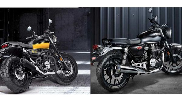 The CB 350 RS looks sportier in comparison to its counterpart.