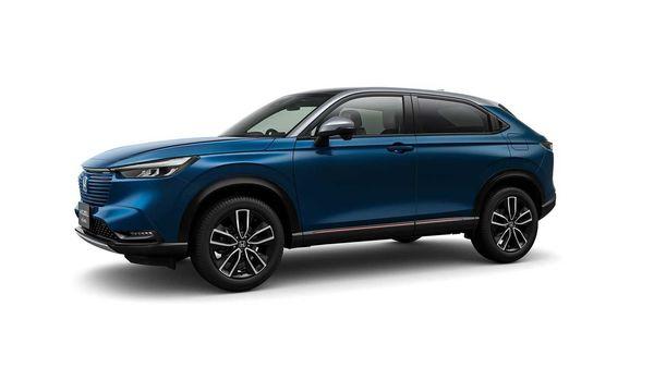 The 2022 Honda HR-V will be available in both hybrid and non-hybrid variants. (Honda)