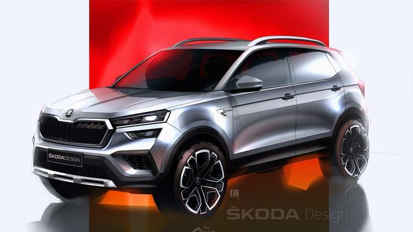 Word premier of the Skoda Kushaq will take place on March 18.