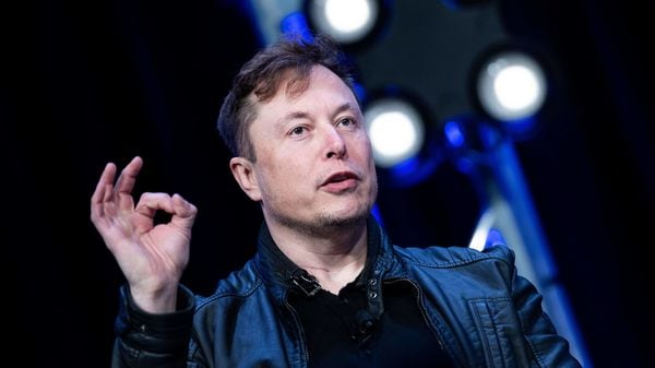 Musk also defended Tesla's action to invest in Bitcoin. File photo of Elon Musk. (AFP)