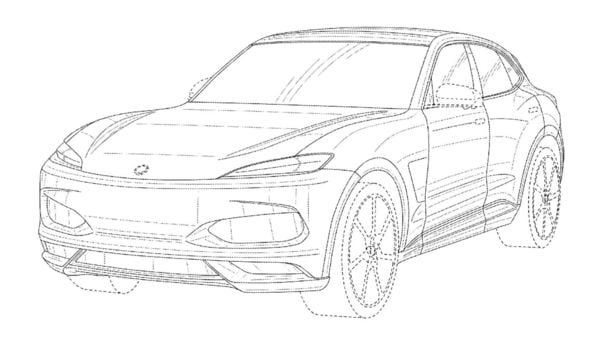 Karma coupe SUV will be the automaker's first model in SUV segment. (USPTO)