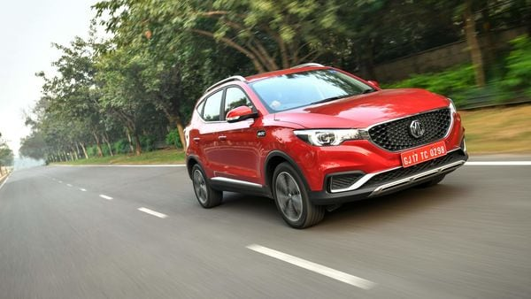 The upcoming ZS petrol is likely to be placed as the entry-level model in the MG's India lineup. (MG ZS EV pictured)