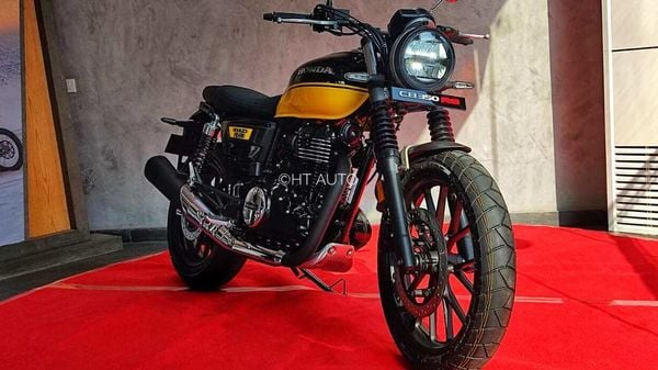 The Honda CB 350 RS is basically the H'Ness wearing new clothes and shoes. (Image: HT Auto/Prashant Singh)