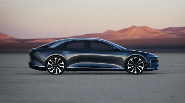 Lucid Air sedan's claimed range of 832 kms on single charge is better than even Tesla cars.