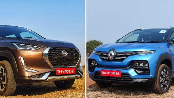 Nissan Magnite (left) and Renault Kiger are promising to take the battle in the sub-compact SUV space to the next level.