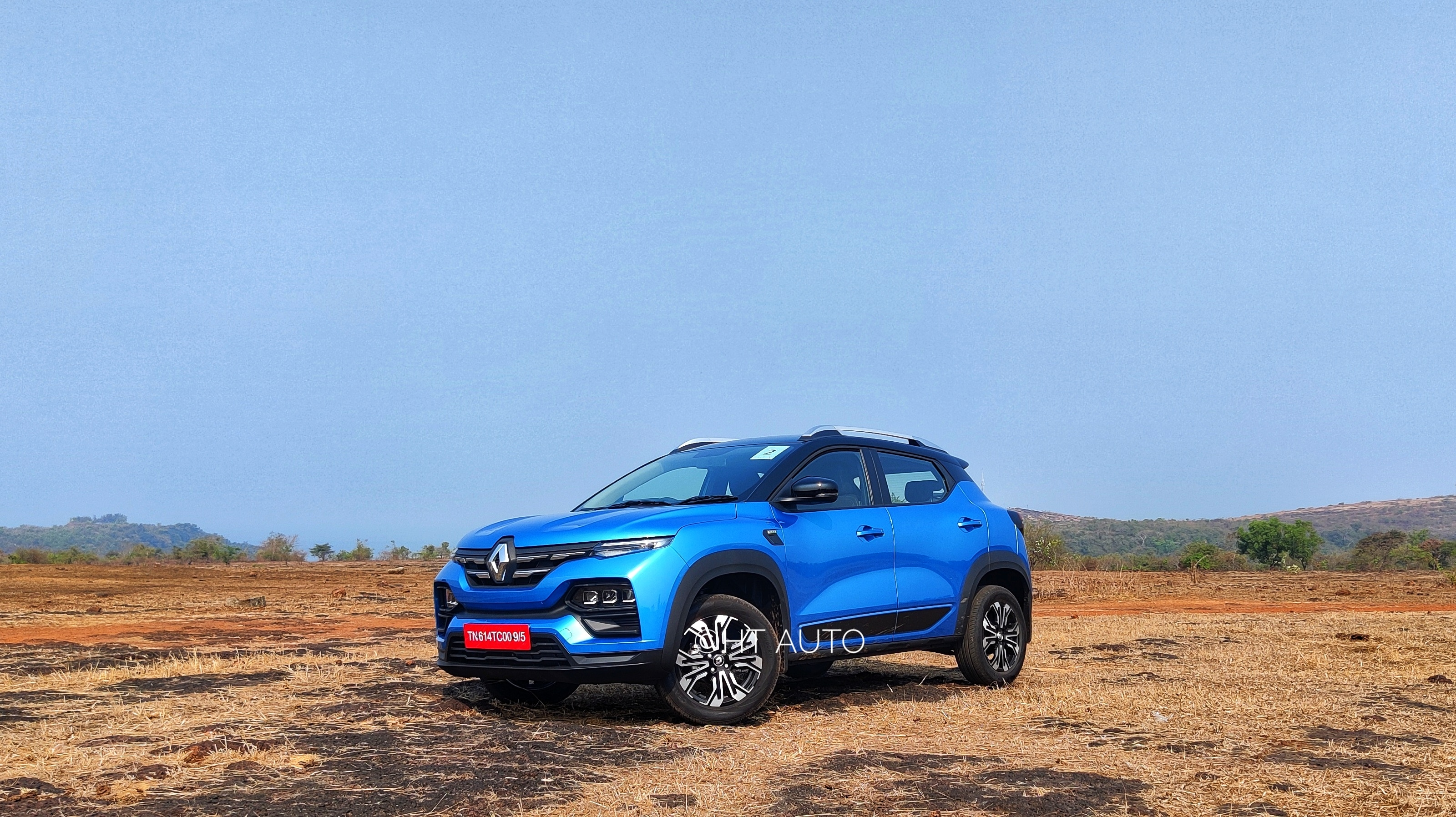 Kiger may clearly have a similar face to Kwid but there's much happening elsewhere to give it its own unique identity. (HT Auto/Sabyasachi Dasgupta)