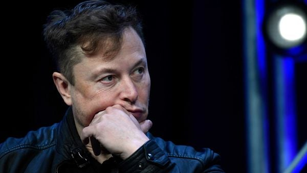 Elon Musk has been swapping the top spot with Bezos since January as the value of Tesla fluctuated. (AP)