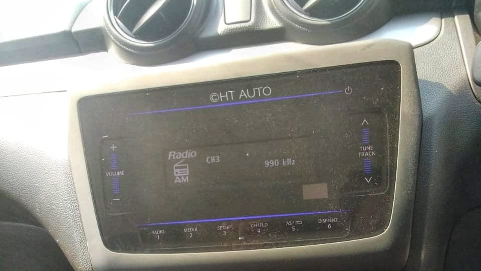 There is no touchscreen infotainment system to speak of on base Swift LXi. (Image: HTAuto/Prashant Singh)