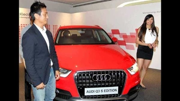 Bhaichung-Bhutia-and-Sharmila-Nicollet-at-the-launch-Audi-Q3-S-edition-in-New-Delhi-PTI-Photo