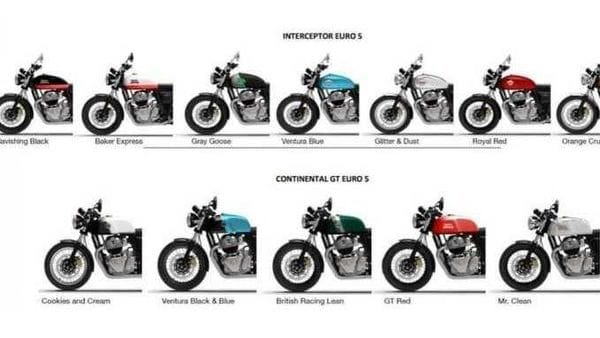 Along with the new colours, both the bikes will also likely be given the Tripper Navigation system.