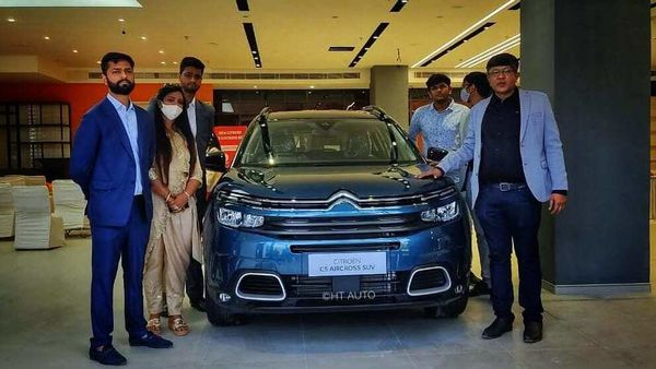 The new Delhi and Gurugram based dealerships are part of the first La Maison Citroen dealerships launched in the country. (Image: HTAuto/Prashant Singh)