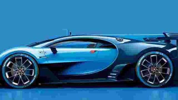 Bugatti Vision Gran Turismo concept car. Photo:AFP