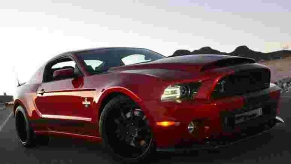 New Shelby GT500 for year of the 'Super Snake'
