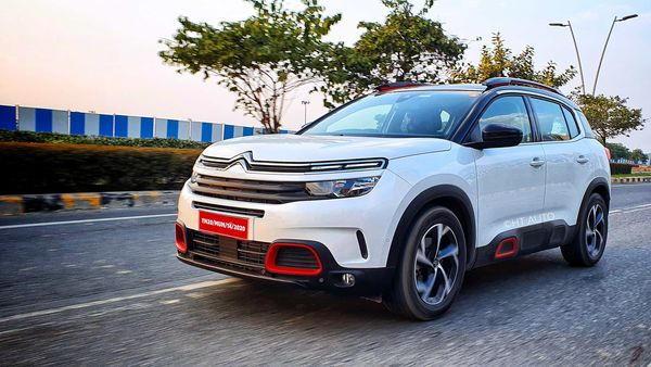 The C5 Aircross is well planted on tarmac and the tyres hug the surface well to provide a reassuring drive. (HT Auto/Sabyasachi Dasgupta)