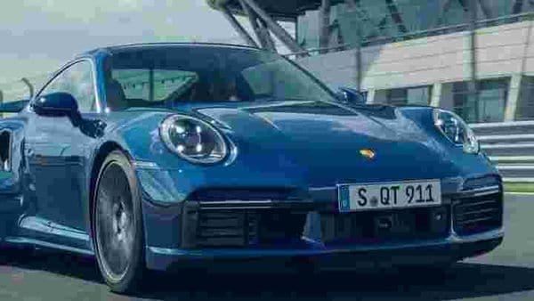 New Porsche 911 Turbo.