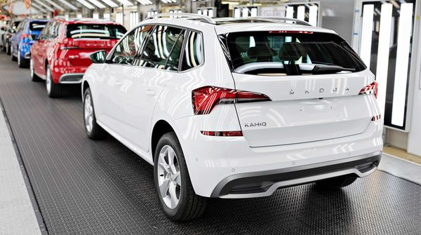 The two millionth SUV rolled off the production line at Skoda's main plant in Mlada Boleslav.