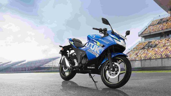 Representational file photo of Suzuki Gixxer SF motorcycle.
