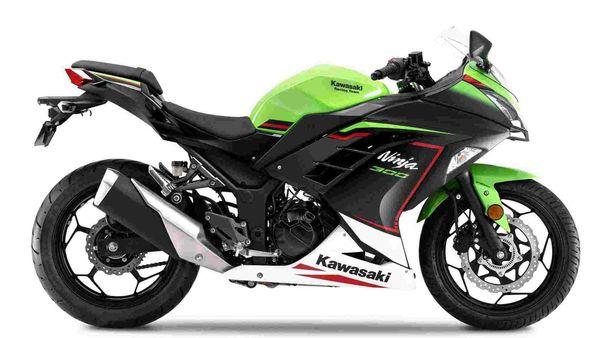 2021 Kawasaki Ninja 300 gets three new paint schemes.