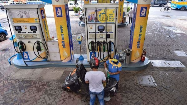 Last month, petrol price crossed the ₹100 mark in several states like Rajasthan, Madhya Pradesh and Maharashtra. (PTI)