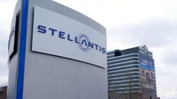 Stellantis was formed by the merger of Groupe PSA and FCA. (AP)