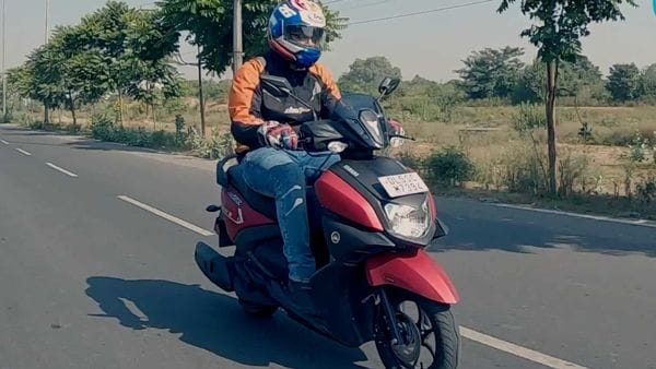 Yamaha Ray ZR is one of the sportiest scooters in its segment.