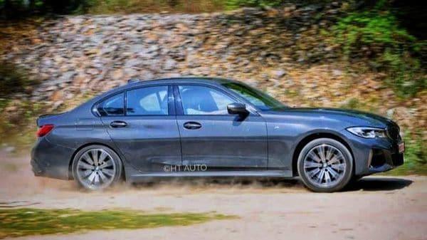 BMW M340i xDrive has a low-slung profile which helps its aerodynamic traits. (HT Auto/Sanjay Rohilla)