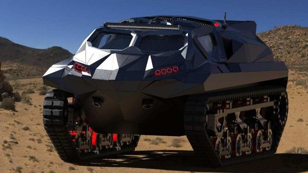 Armoured hybrid amphibious vehicle from Highland Systems. (Photo: @Defence_blog on Twitter)