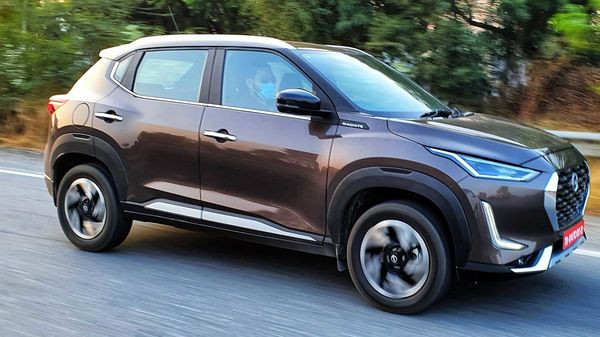 The Nissan Magnite turbo-petrol range is now priced from ₹7.29 lakh (ex-showroom). (HT Auto/Sabyasachi Dasgupta)