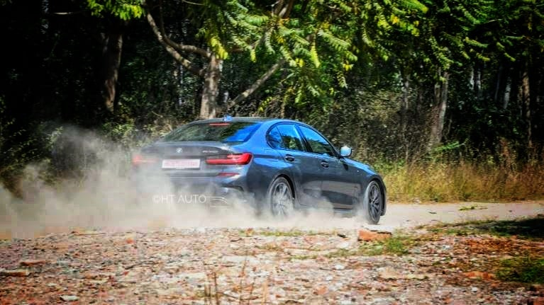 Race tracks may be the preferred home for the BMW M340i but it is equally capable of providing a thrilling drive experience on a wide variety of surfaces. (HT Auto/Sanjay Rohilla)