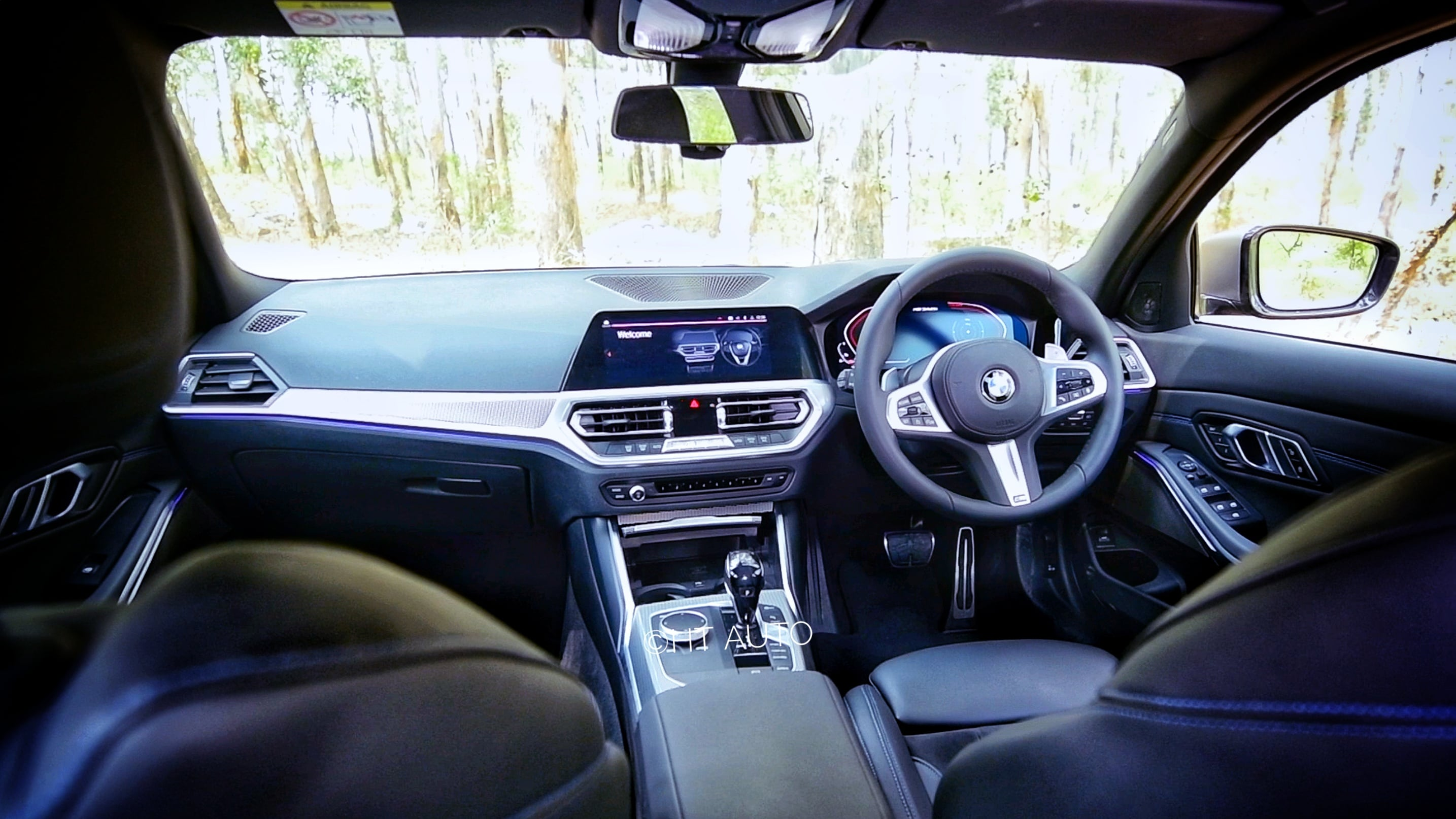 The cabin of the BMW M340i is well-appointed and is as premium as one would expect in the luxury performance segment, (HT Auto/Sanjay Rohilla)