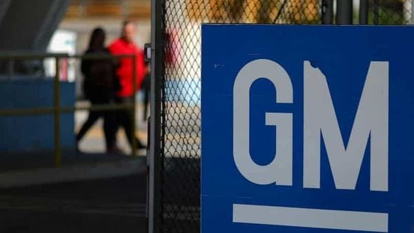 File image: The GM logo is seen at the General Motors plant in Sao Jose dos Campos, Brazil, (REUTERS)