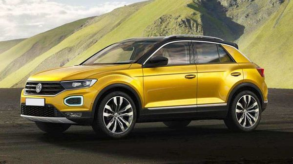 The new Volkswagen T-Roc SUV will be a CBU model, like its predecessor.