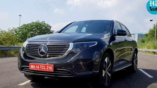 Mercedes-Benz EQC will be the first EV to launch in India from the German giants. (Photo - Sabyasachi Dasgupta)