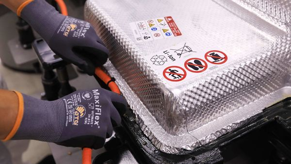 File photo of EV battery used for representational purpose only (Bloomberg)